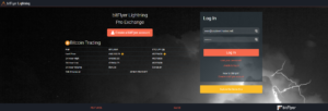 Bitflyer lighting login page