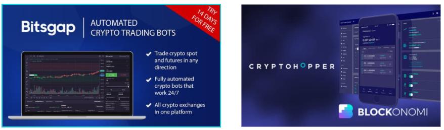 Bitsgap & cryptohopper